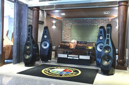 Double bass Drongo show room small