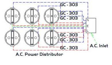 Furutech e TP 609E NCF circuit diagram технологии