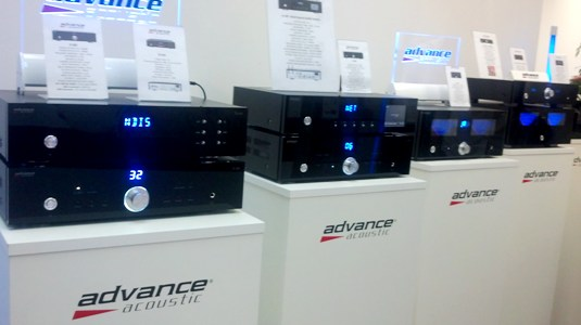 Munich 2014 - Advance Acoustic electronics